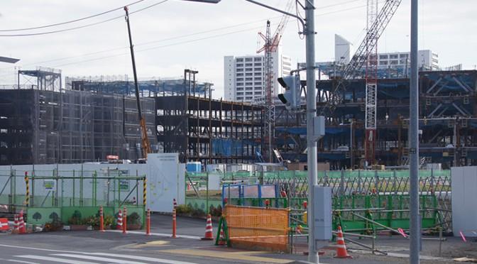 2014年11月3日の海老名駅西口