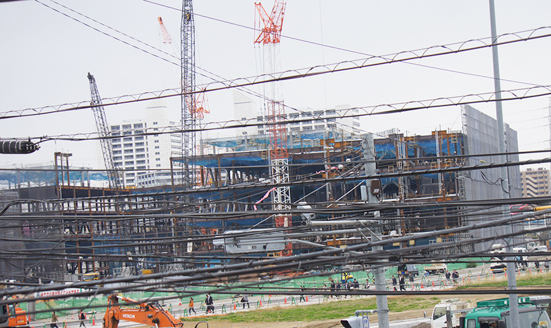 2014年11月6日の海老名駅西口