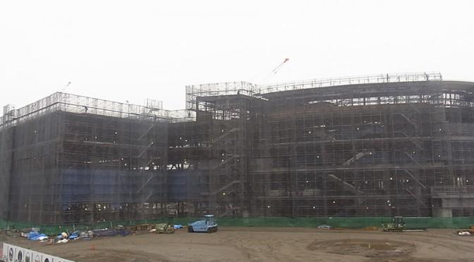 2014年12月1日の海老名駅西口