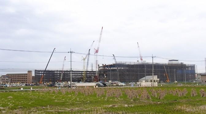 2014年12月4日の海老名駅西口