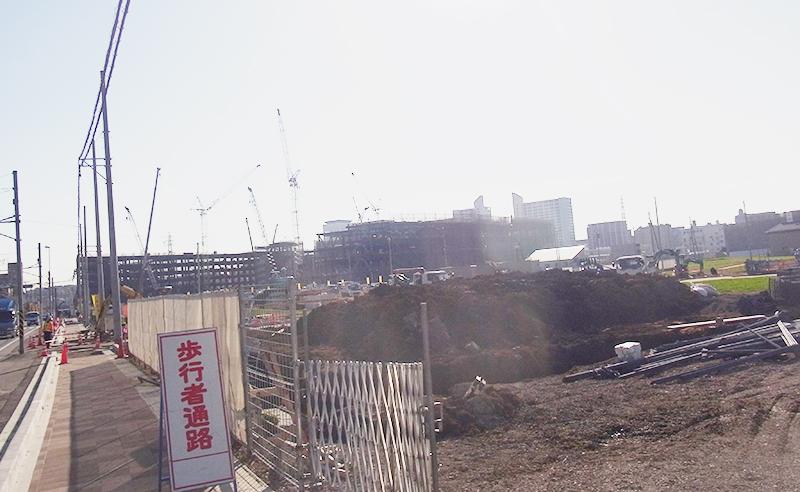 2014年12月8日の海老名駅西口