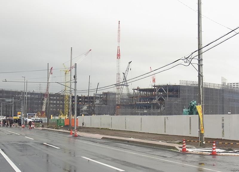 2014年12月11日の海老名駅西口