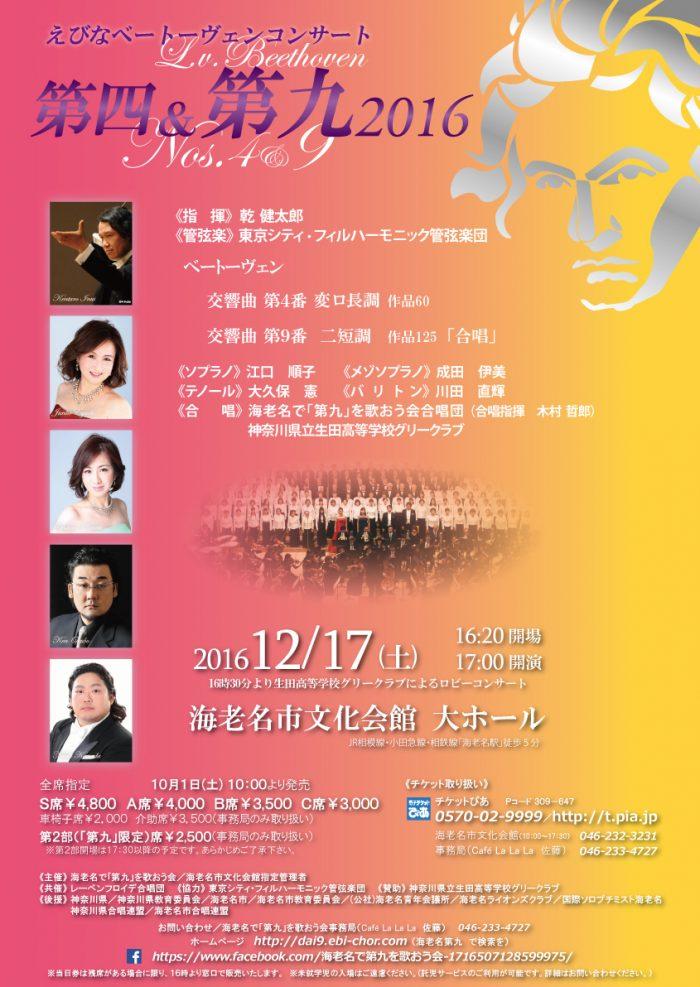 ベートーヴェンコンサート2016