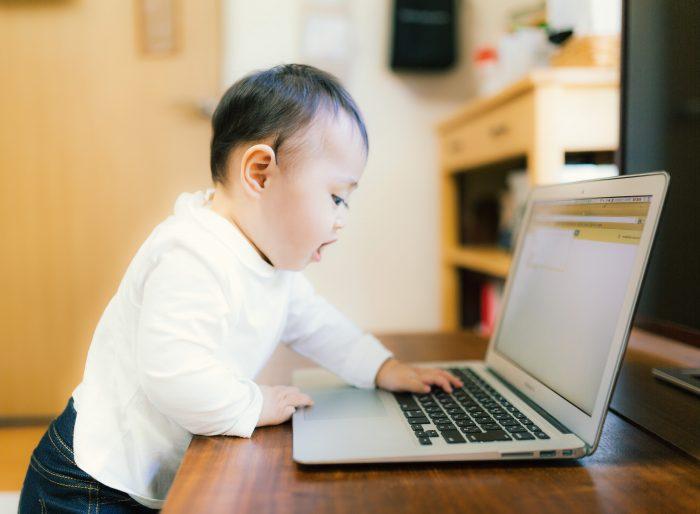 赤ちゃんもパソコンができる!?