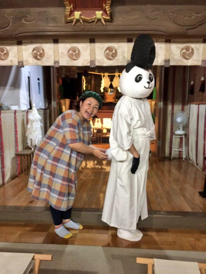 有鹿神社 パンダ宮司代理の秘密 ...