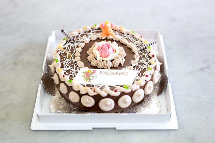 海老名市のケーキ屋プランタニエのチョコレートケーキ