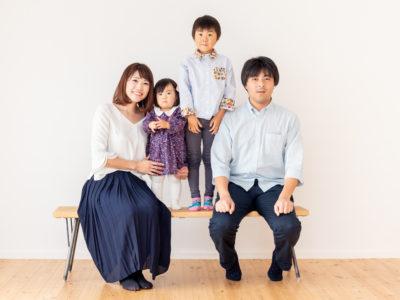ハウススタジオ 家族写真 ナチュラル