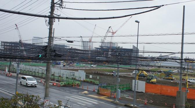2014年11月1日の海老名駅西口