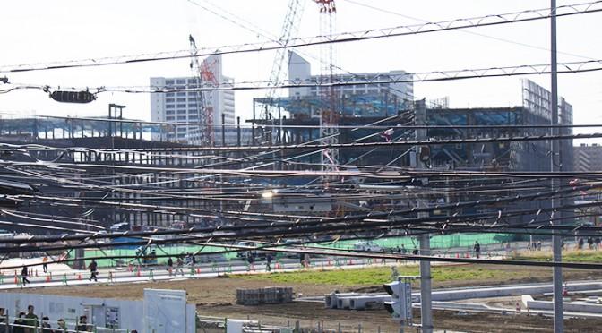 2014年11月4日の海老名駅西口