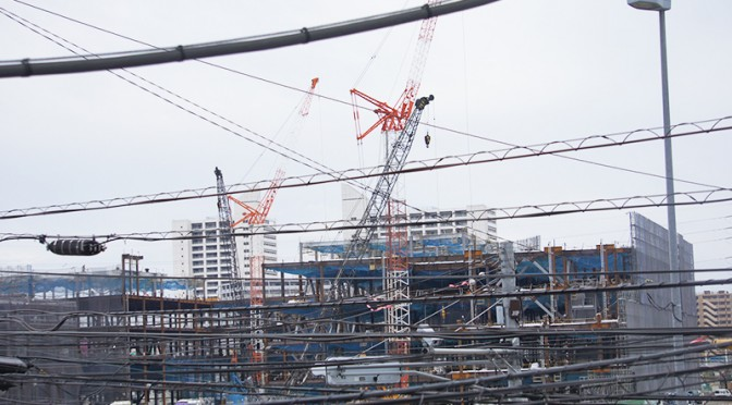 2014年11月5日の海老名駅西口