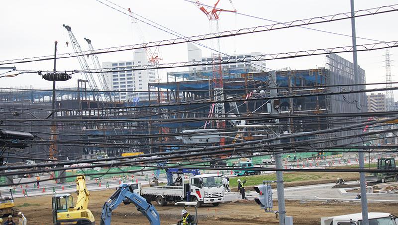 2014年11月8日の海老名駅西口