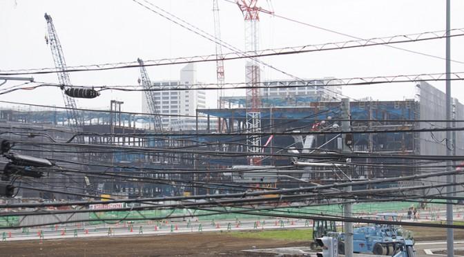 2014年11月9日の海老名駅西口