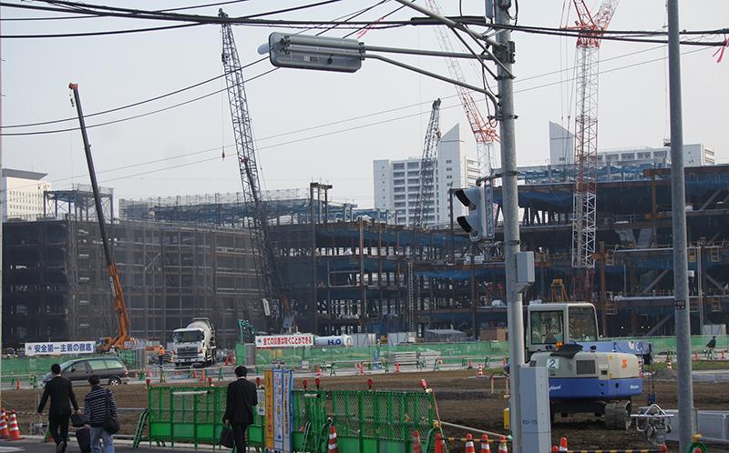2014年11月12日の海老名駅西口