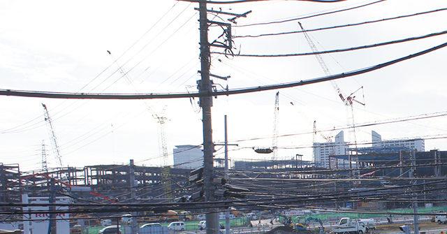 2014年11月17日の海老名駅西口