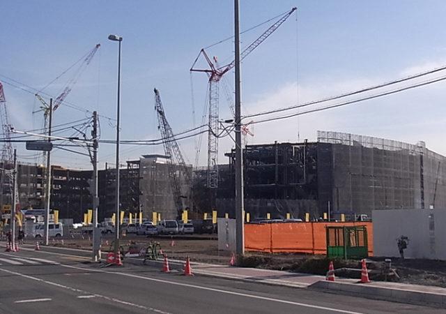 2014年12月15日の海老名駅西口