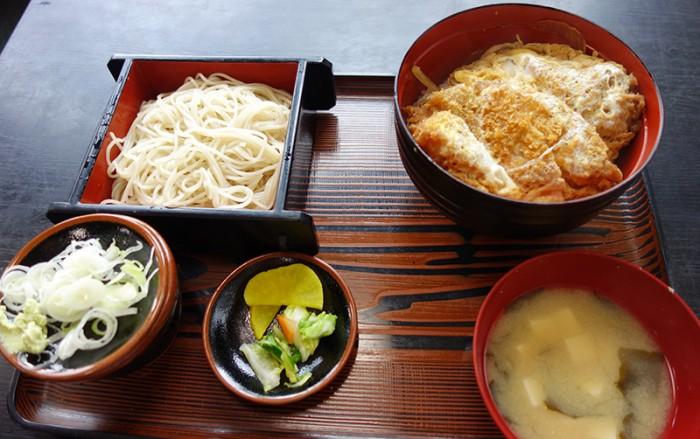 長寿庵 厚木 カツ丼