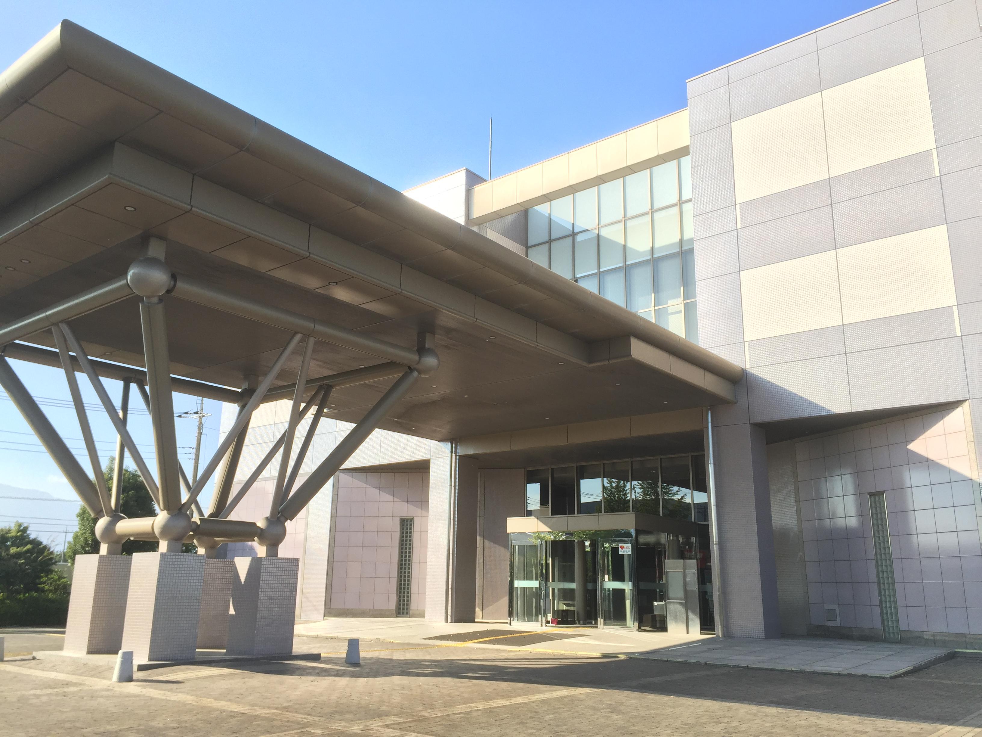 神奈川県総合防災センター入り口