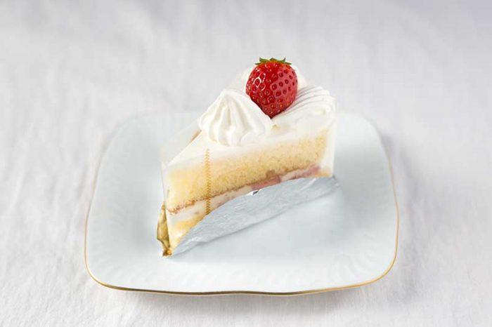 海老名市のケーキ屋プランタニエのショートケーキ