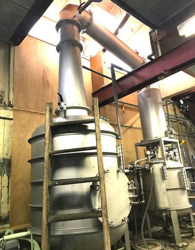 クラフトジンの蒸留器